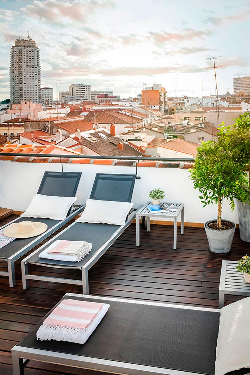 Eric v kel terrazas urbanas y apartamentos de lujo en madrid for Terrazas madrid
