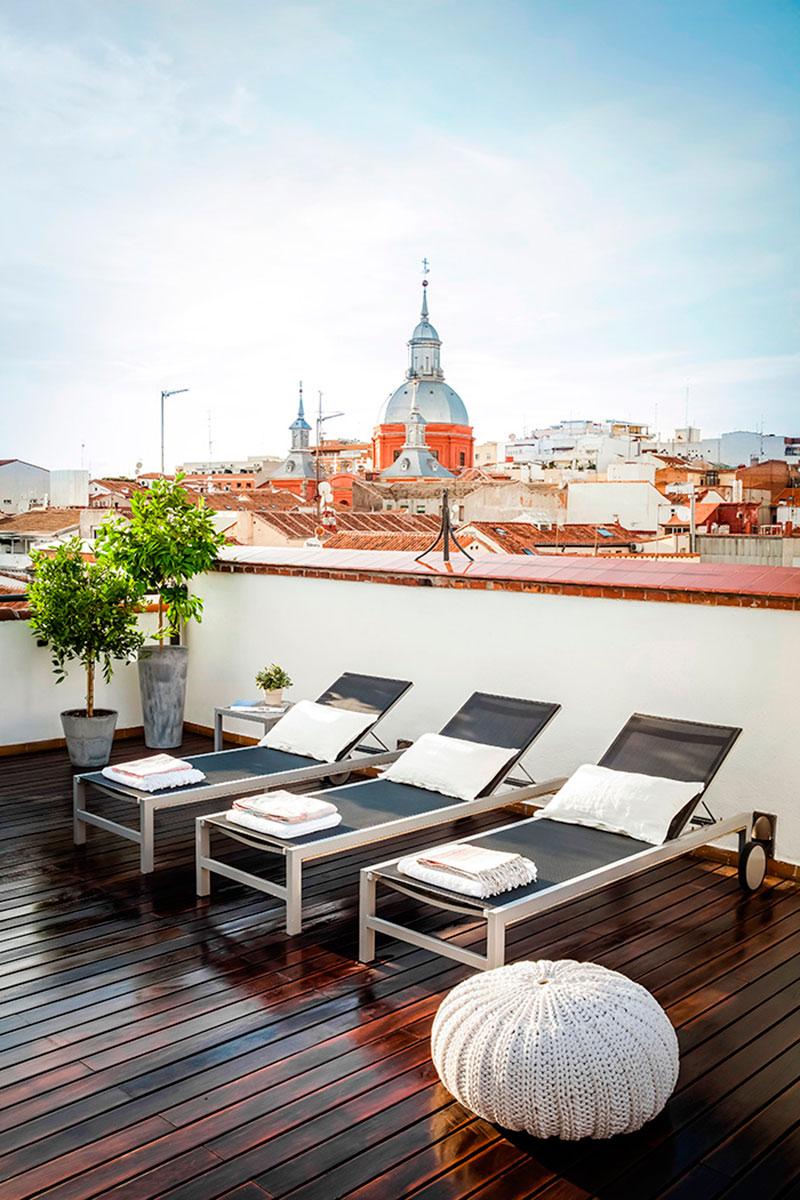 Eric v kel terrazas urbanas y apartamentos de lujo en madrid for Pisos con terraza madrid
