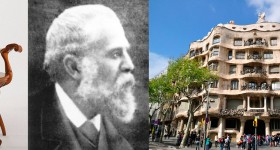 Antoni Gaudí and his architectural imaginarium.