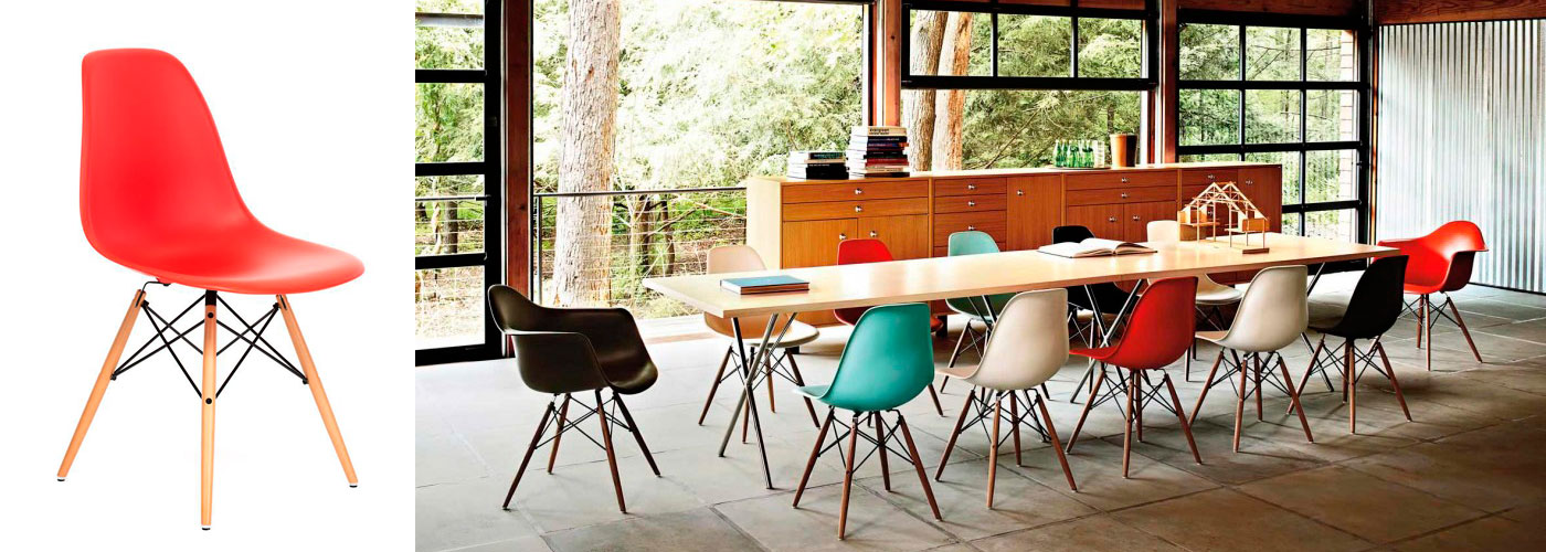Esstisch Eames Chair ~ Design Icons Plastic Chair, by Charles & Ray Eames  Eric Vökel