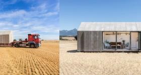 Una casa transportable, vida nómada en el siglo XXI.