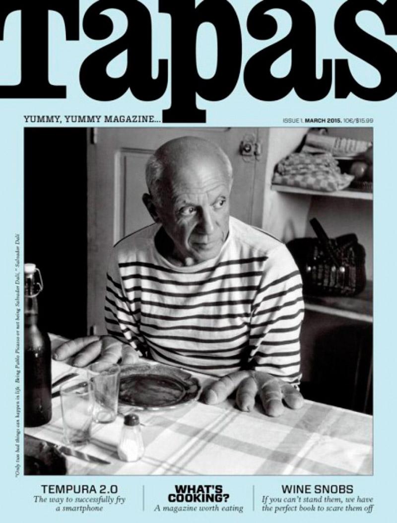 Tapas-Magazine-Picasso-Portada
