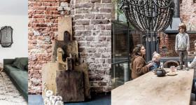 Vivir alrededor de un patio: estilo industrial en Ámsterdam