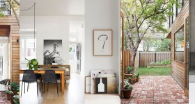 The reconversion of a small Victorian house in Melbourne