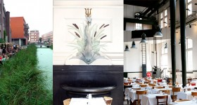 Café Restaurant Amsterdam: world cuisine in a pumping station