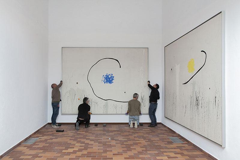 Fundació-Joan-Miró-Instalación-Expo