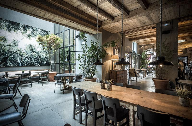 Dónde-comer-en-Barcelona-Restaurante-Gats-interior