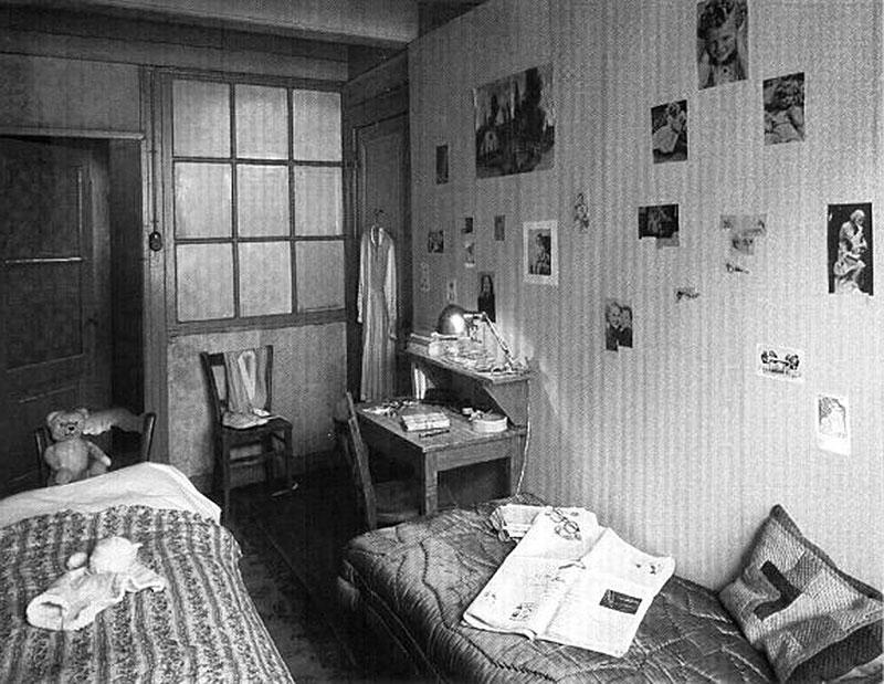 Ana-Frank-habitación