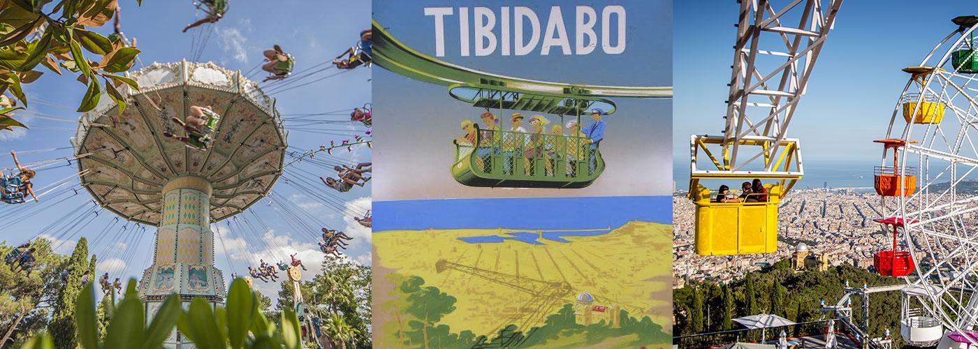 Parque de atracciones tibidabo diversi n con vistas con for Parques ninos barcelona