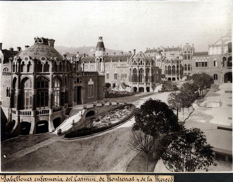 Recinto-Modernista-de-Sant-Pau-pabellones