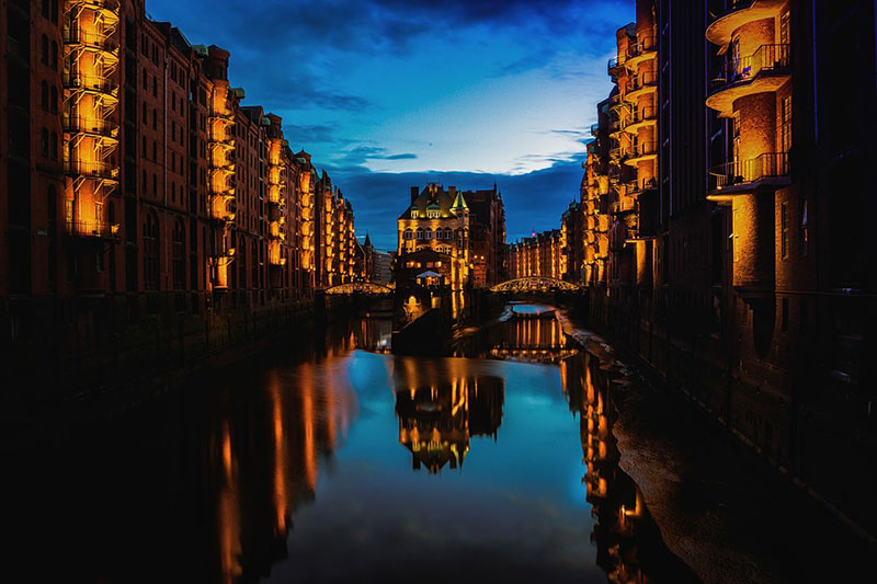 Hamburgo-canal
